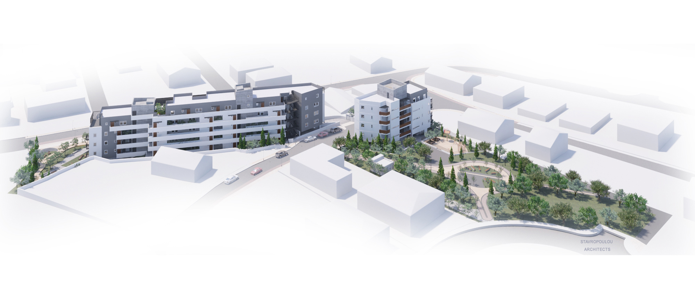 Social Housing designed by Stavropoulou Architects
