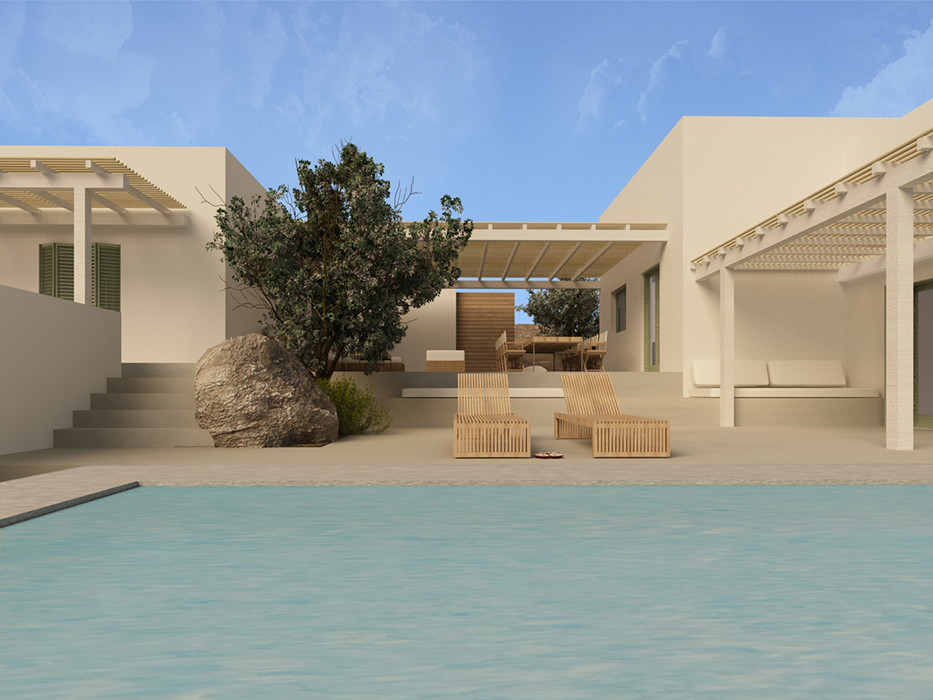 Summer house in Cyclades