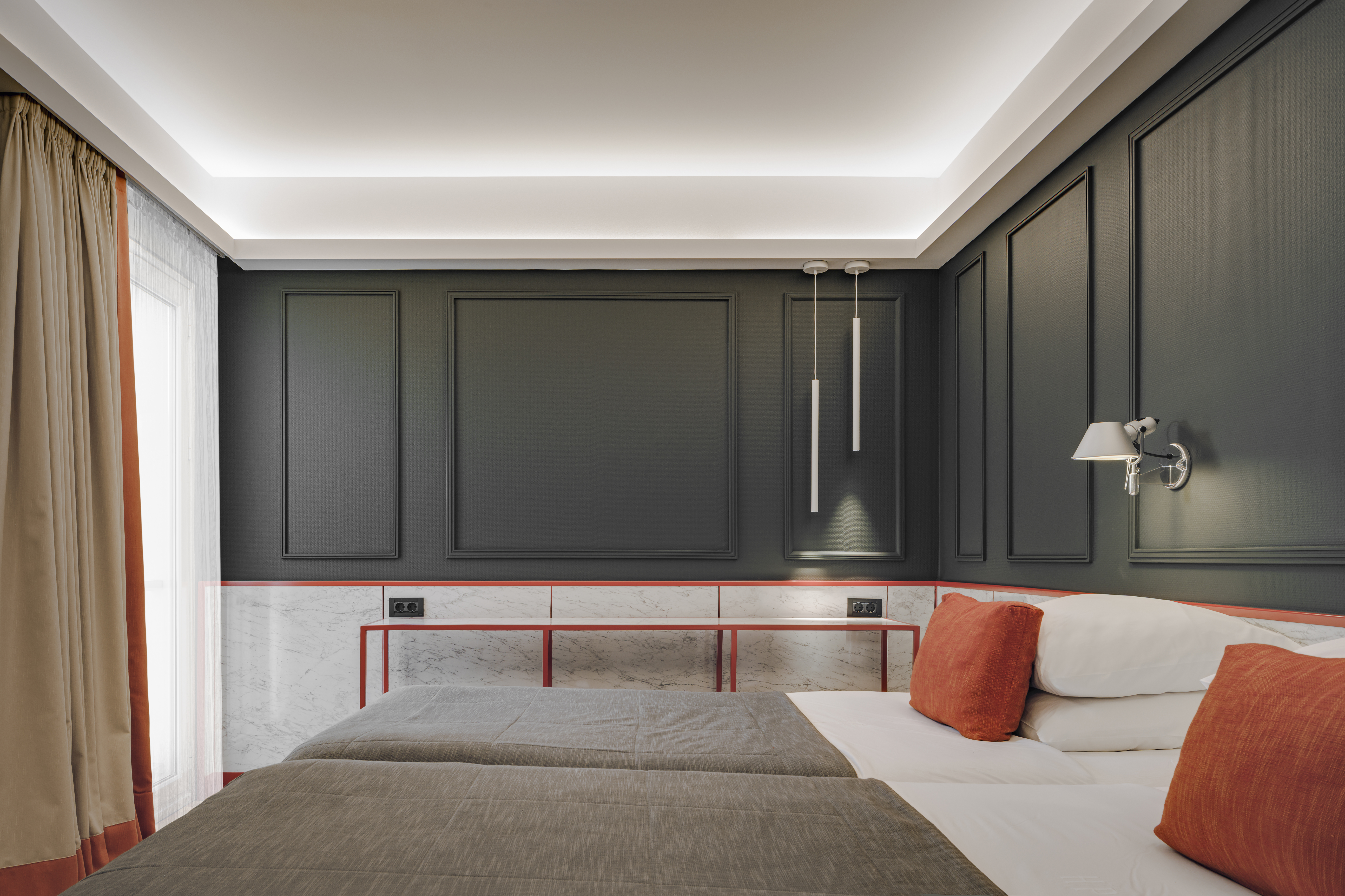 Classical and elegant style hotel