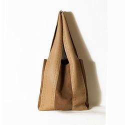 Elena Vandelli leather tote bag