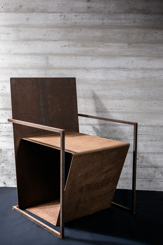 Steel Chair by Stavropoulou Architects