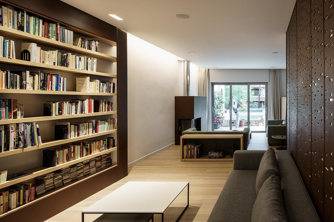 Library design, Stavropoulou architects, greek architects
