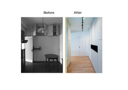Corridor renovation in Athens by greek architects