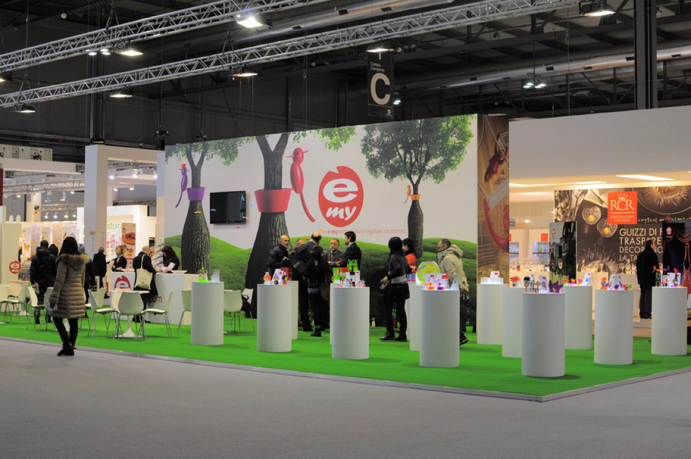 Trade show in Ambiente