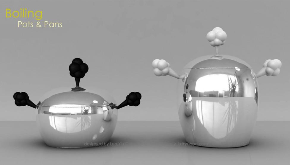 """Pots & Pans """"Boiling"""""""
