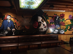 Cantina Mexicana Mural by Manrique Mural Art