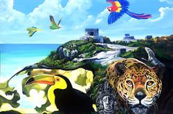 MMAD Yucatan Custom Designed Mural
