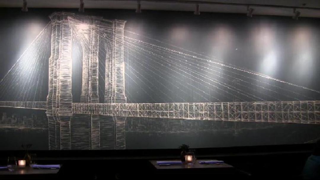 Piero Manrique's Brooklyn Bridge Mural