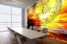 Office art custom design for work spaces