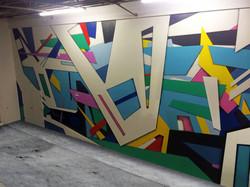 Brand Star Workspace Mural