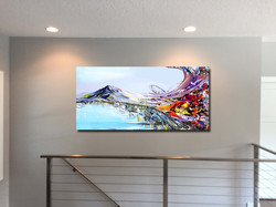 Mountain Painting by artist Piero Manrique