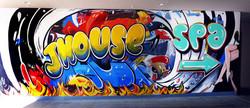 Hotel Mural by CT Muralist Manrique