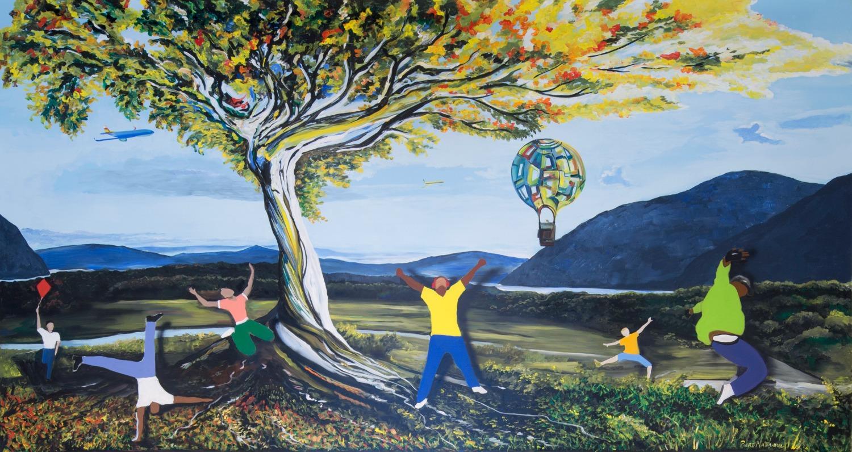 Piero Manrique Hudson River Kid's Mural