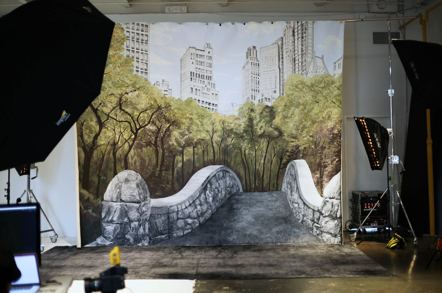 Manrique Mural for Justin Alexander