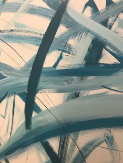 Piero Manrique Abstract Mural Detail