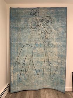 Piero Manrique Mural on Cloth