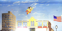 Mighty Mouse in MMAD Station Mural