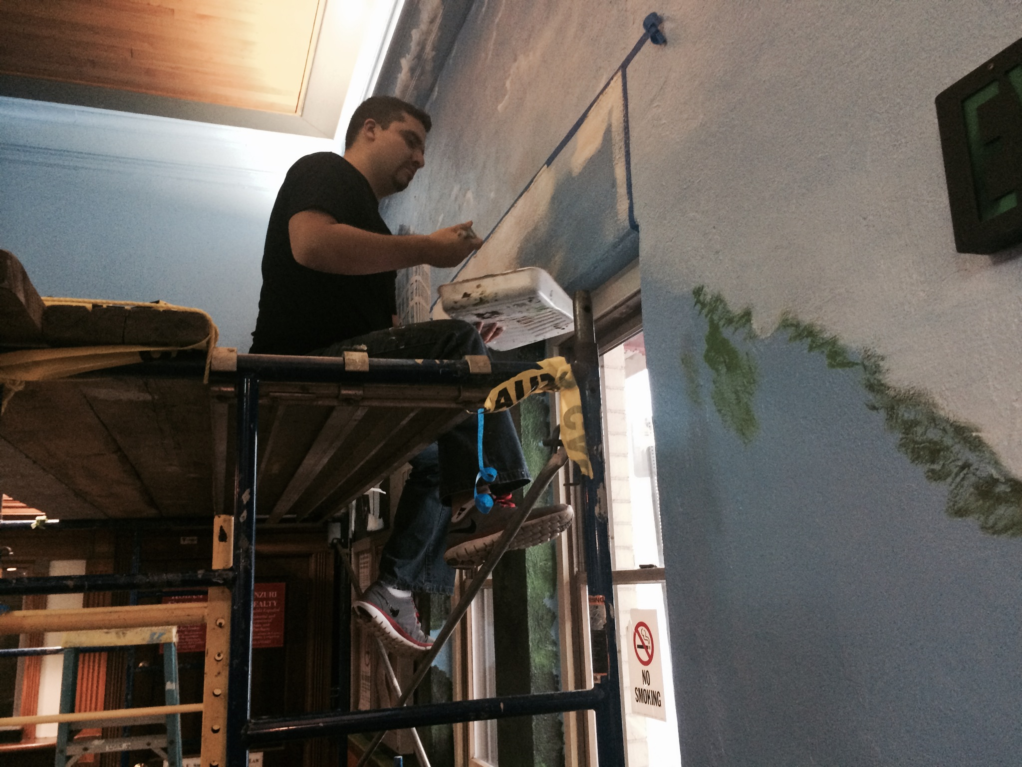 Manrique Painting Station Mural