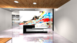 Abstract Mural Design by MMAD