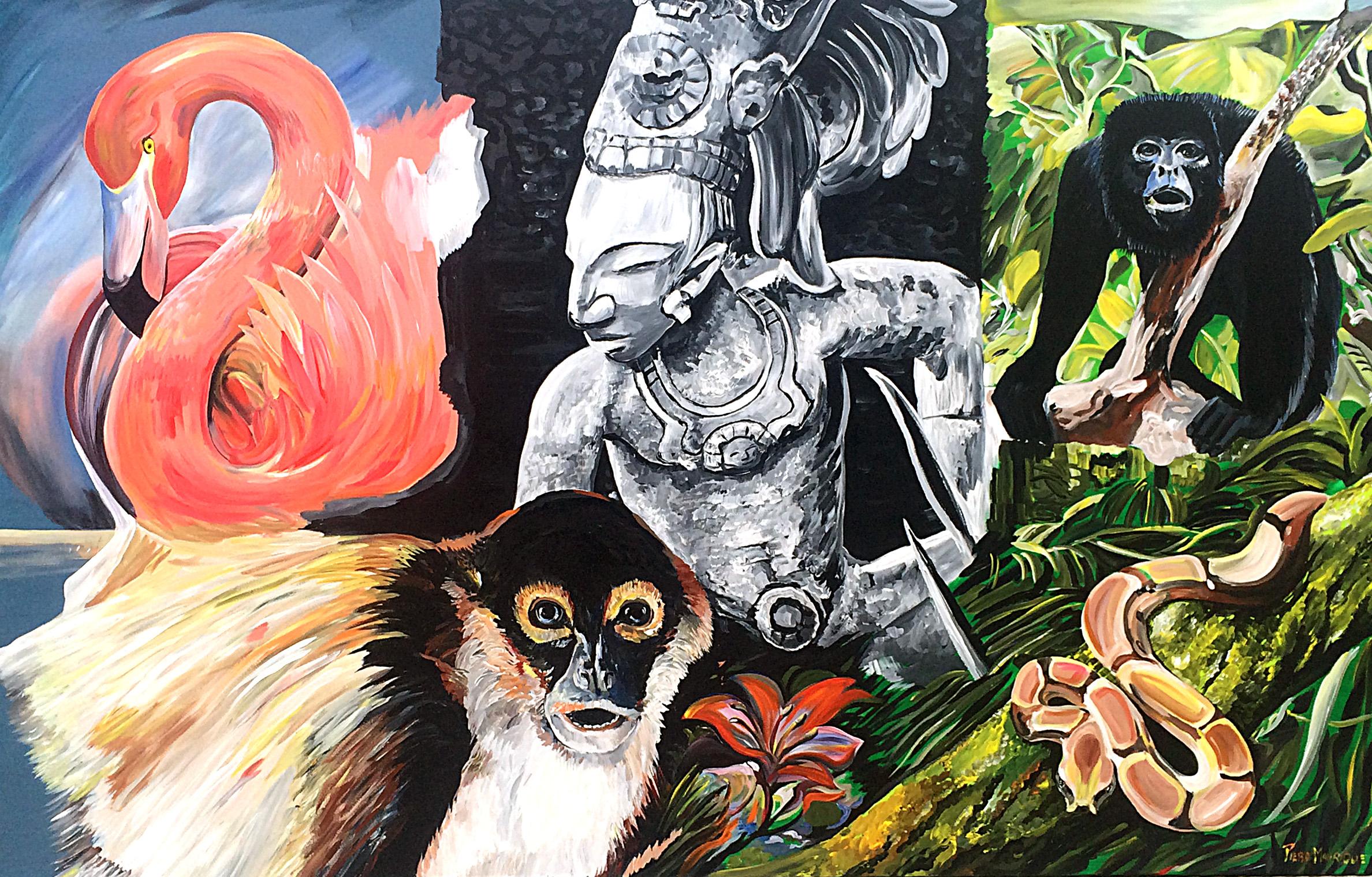 MMAD Yucatan Custom Mural