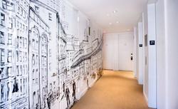 Gotham Hotel Mural by Manrique