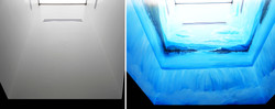 Before & After MRF Waterfall Mural