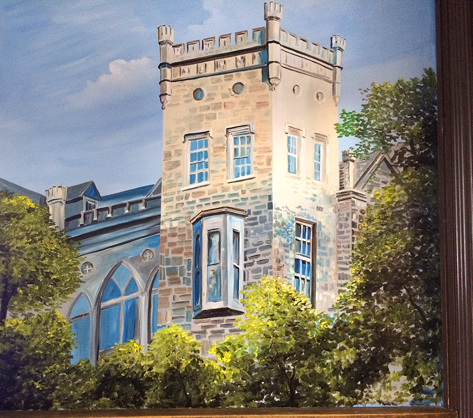 Detail of New Rochelle Mural by MMAD