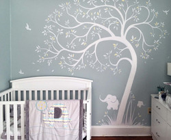 Fairfield County Piero Manrique's nursery room mural