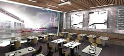 Modern Art for Restaurant by MMAD