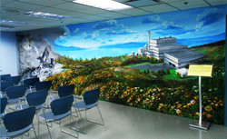 MRF Classroom Mural by MMAD