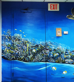 Detail from MRF Conf Room Mural