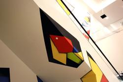 Manrique Escalator Mural in NY