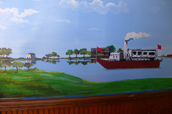 Glen Island in MMAD Station Mural