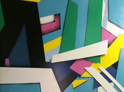 Detail of Manrique Brandstar Mural