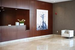 Lobby with Piero Manrique Painting