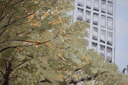 Detail of Manrique NYC Mural
