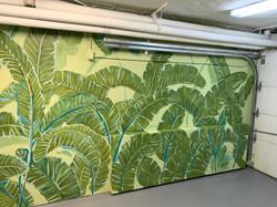Piero Manrique Brooklyn Garage Door Mura