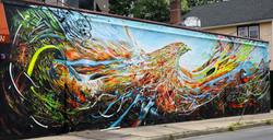 """Piero Manrique Mural """"Free"""""""