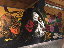 Day of the Dead Mural by MMAD