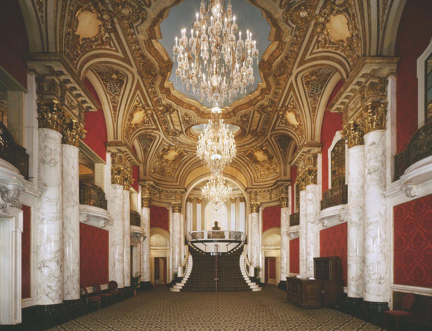 Boston Opera House Lobby