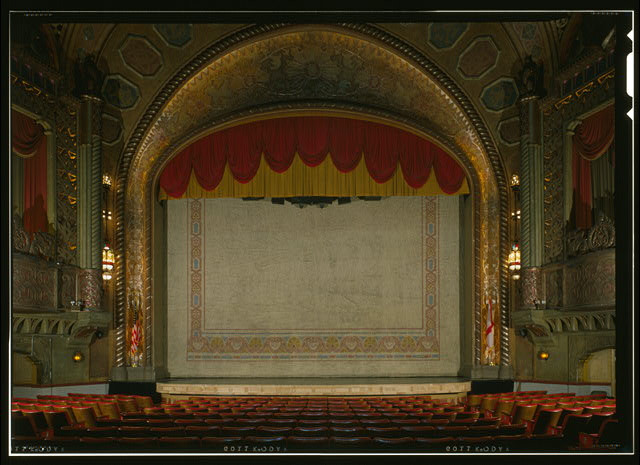 Alabama Theatre Stage