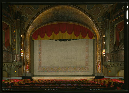 Alabama Theatre Stage