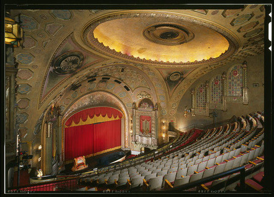 Alabama Theatre View of Stage from Balcony