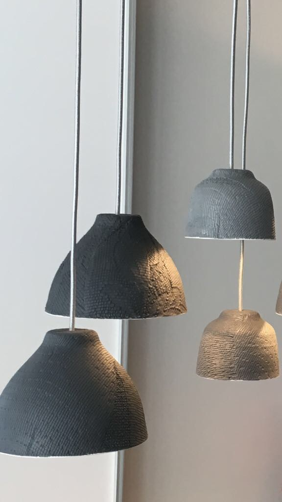 Grey light fittings