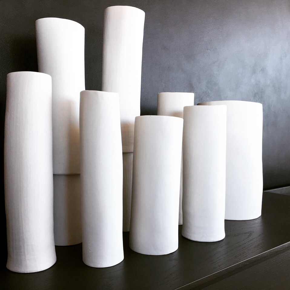 porcelain cylinders