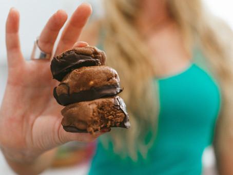 Protein Chocolate Peanut Truffle Balls
