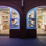 Brighton Photography Gallery main door near i360 tower