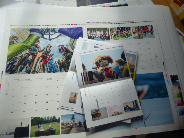 Proofs for brighton and Hove Calendar