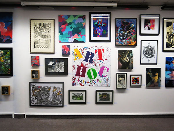 Brighton Arthoc gallery wall filled with images