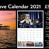 Brighton and Hove Calendar seasonal stall in Kensington Gardens